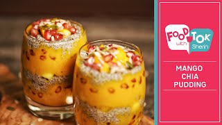 Mango Chia Seed Pudding Recipe | No Sugar Mango Chia Seed Breakfast Pudding with Coconut Milk