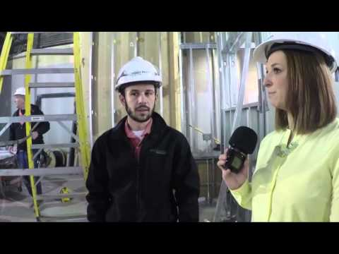 Center For Media Innovation Construction - Raw Footage (Week 8)