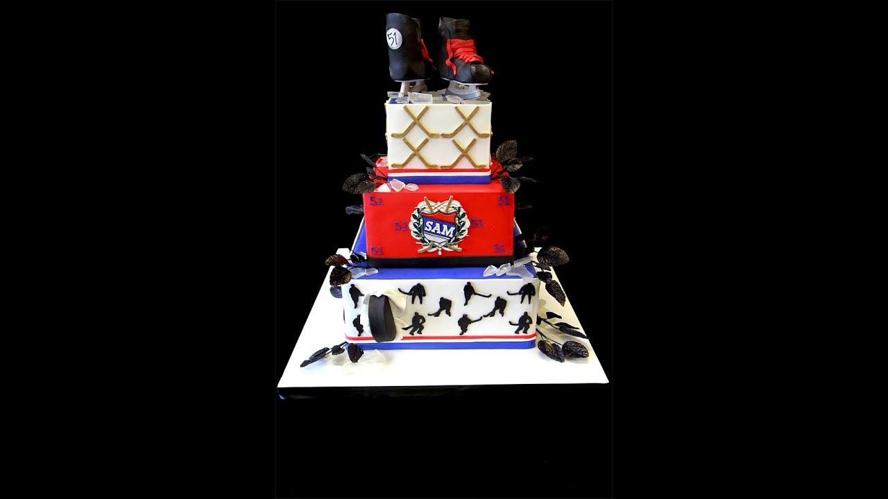 Hockey Cake Images