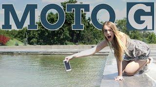 Moto G: водоплавающий смартфон