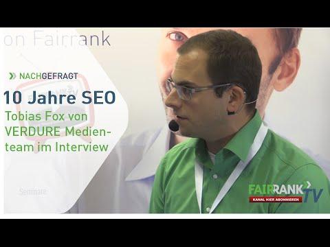 10 Jahre SEO Teil 2 - Tobias Fox im Interview | FAIRRANK TV - Nachgefragt