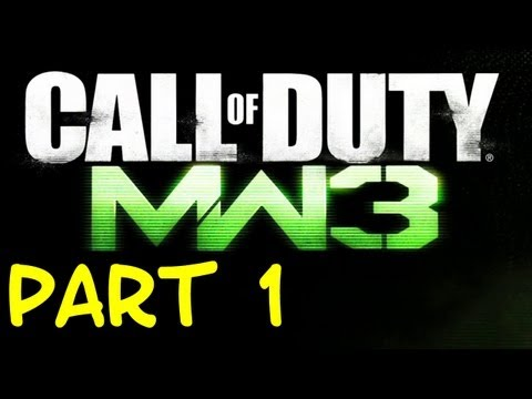 Let's Play Call of Duty: Modern Warfare 3 German - Part 1 - INTRO
