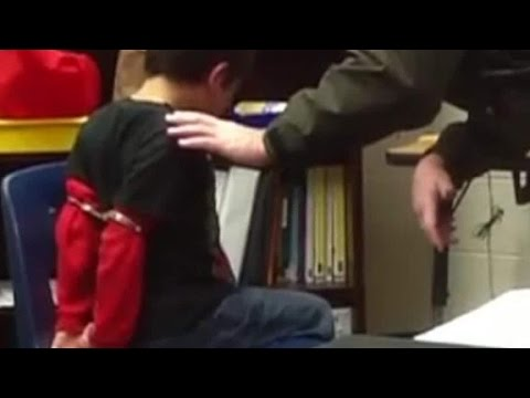 School officer sued for handcuffing a disabled child