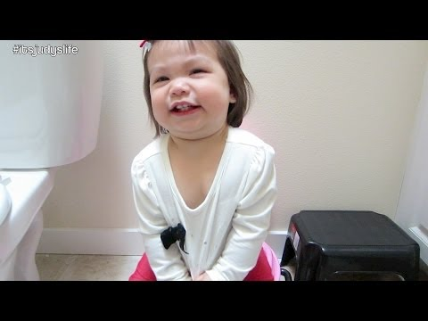 Potty Training Begins! - April 17, 2014 - itsJudysLife Daily Vlog