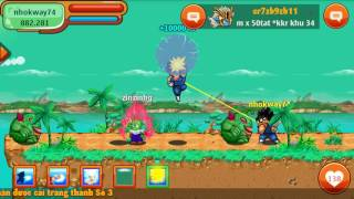 Ngọc rồng online luyện tập level troll :))