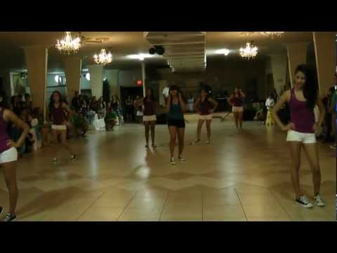 Vanessa Aceves Quinceanera Surprise Dance Choreographed by Zarina Aguilar