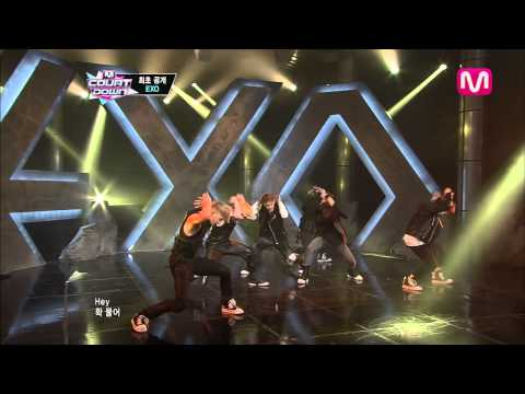 EXO_Inrto + ��� 미� (Intro + Wolf by EXO@Mcountdown 2013.5.30)