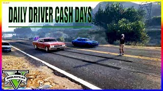 RACE NIGHT! | DAILY DRIVER CASH DAYS -120MPH TRAP- | FIVEM