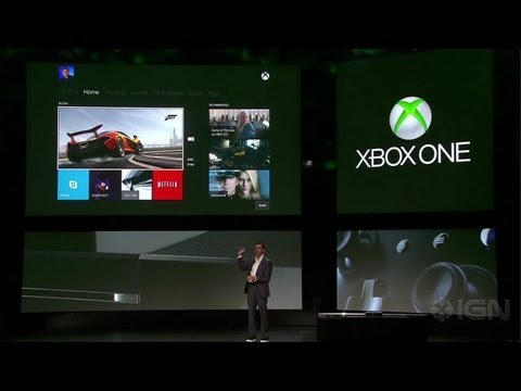 Xbox One Dash Demo - Xbox One Reveal