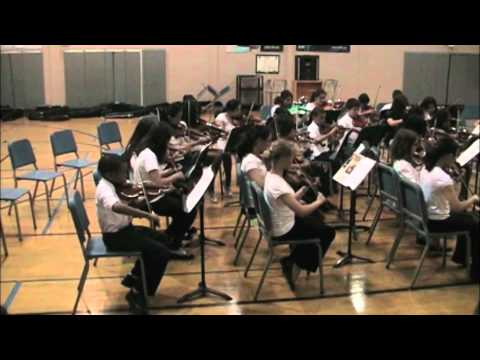 Julius West Middle School 6th grade Orchestra - Rigaudon