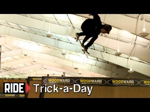 "How-To Backside 360 Melon Grab With Aaron ""Jaws"" Homoki - Trick-a-Day"