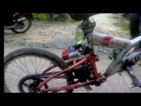 basikal ubah suai.