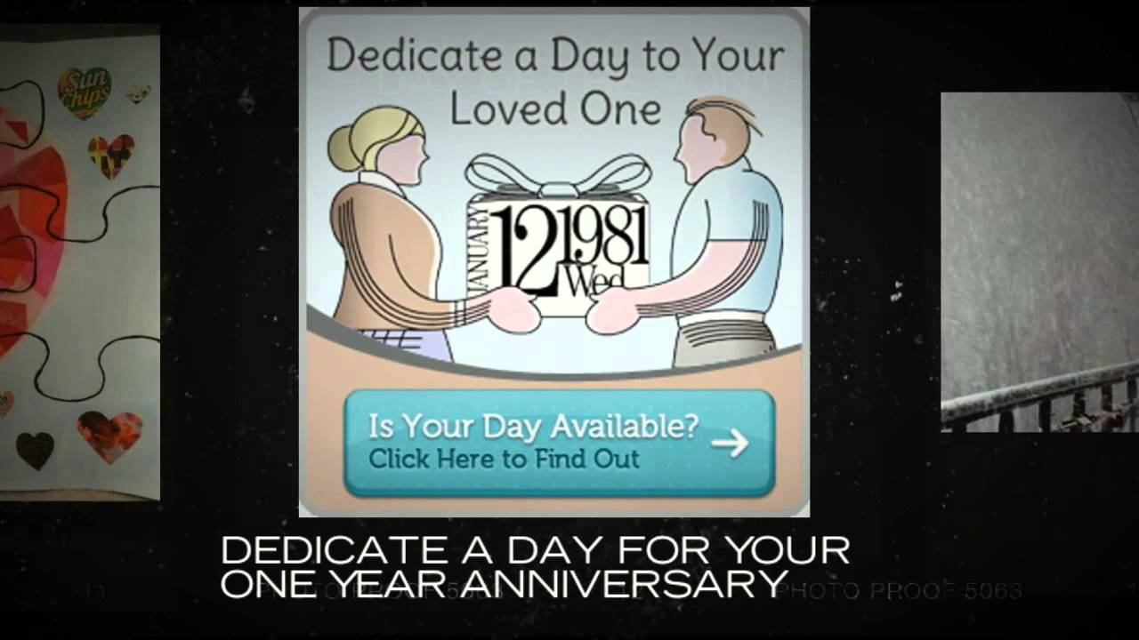 One Year Anniversary Gifts For Boyfriend - YouTube