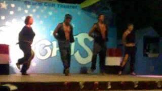barcha barcha dance by animation team @ sharm cliff resort 7/2009 ( sharm el sheikh )
