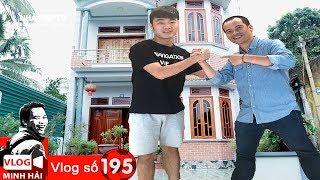 Xuân Trường ghi bàn - mời các bạn thăm nhà Xuân Trường   Vlog Minh Hải