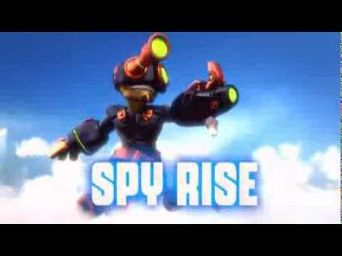 Skylanders: Swap Force - Spy Rise Soul Gem Preview (It's Classified)