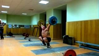 192,5 kg My first training and bigest snatch after two years without OL weightlifting.
