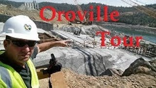 Part III Oroville Spillway Construction Tour