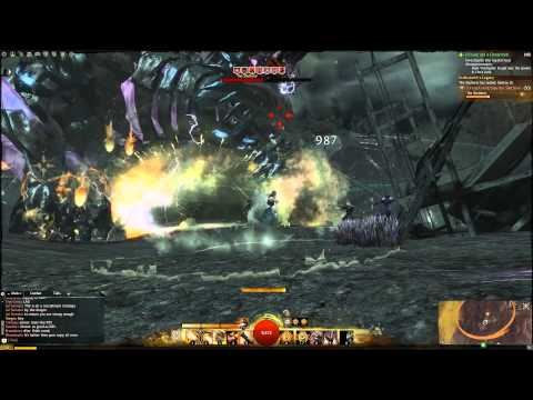 Guild Wars 2 - The Shatterer dragon battle