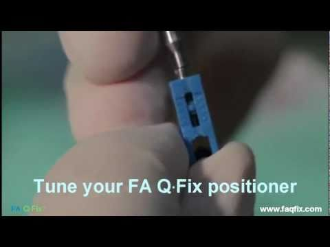FAQFix - Indirect Technique - Step 3 - Tune your FAQFix positioner