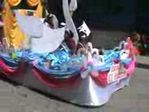 Desfile en joyabaj el quiche. los del boqueron 10 de agosto 2013