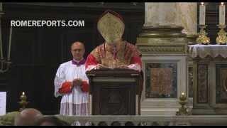 Romereports Vaticano Videos del Papa Francisco Homilias - Colegio de Abogados de Australia celebra tradicional
