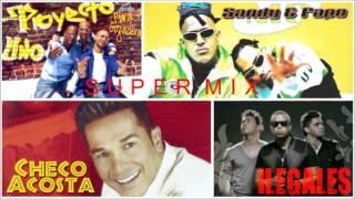 Download lagu mix Proyecto Uno, Ilegales, Sandy y Papo, etc.Merengue hip hop
