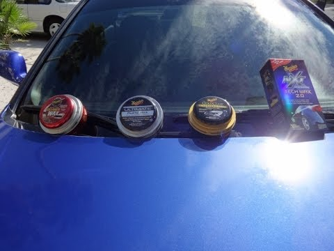 The difference between Meguiar s Cleaner Wax, Gold Class, Tech Wax 2.0, and Ultimate. Comparison.