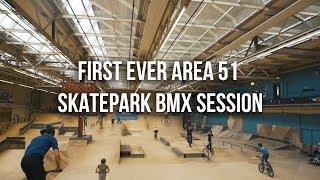 First Ever Area 51 Skatepark Bmx Amp Scooter Session