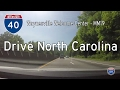 🚙 Let's Drive ... NC:  I-40 Waynesville Welcome Center to MM19