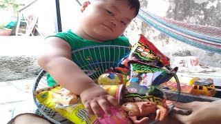 Đồ chơi trẻ em bé pin mua đồ tạp hóa ❤ PinPin TV ❤ Baby toys buy grocery