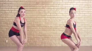 Kendall Vertes And Maddie Ziegler - The Bro Groove (ABBY LEE DANCE SECRETS APP)
