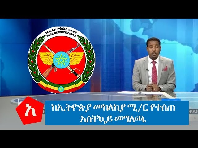 Statement by Ethiopia's Defense Ministry