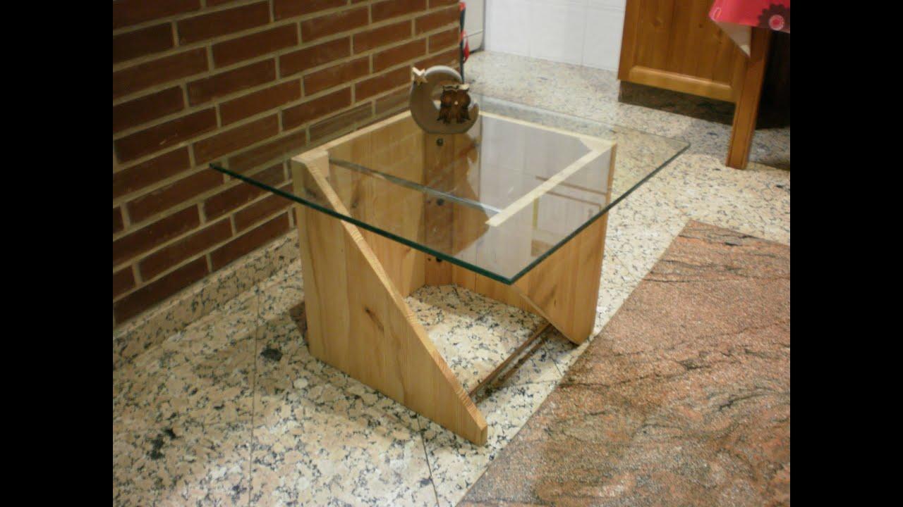 Mueble funcional silla mesa o caj n youtube for Listones de madera para palets
