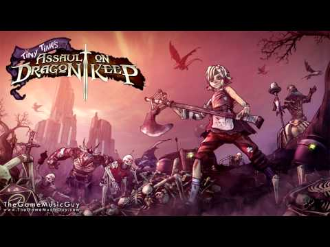 Flamerock Refuge - Tiny Tina's Assault on Dragon Keep - Borderlands 2 Soundtrack
