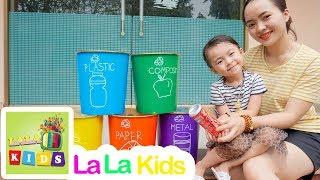 Clean Up Trash Song | La La Kids Nursery Rhymes & Kids Songs