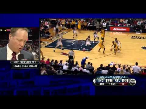 NBA, playoff 2014, Pacers vs. Hawks, Round 1, Game 4, Move 47, C.J. Watson, layup