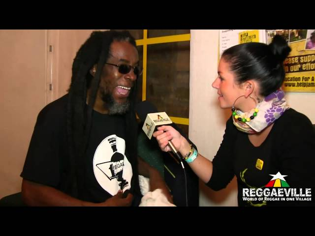 Interview: Half Pint @ Reggae Jam 8/5/2012