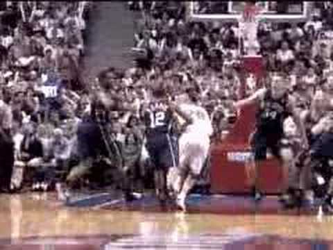 Kenyon Martin breakaway slam against Pistons in 2003 ECF Video