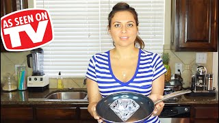 Blue Diamond Pan Review | Testing As Seen on TV Product