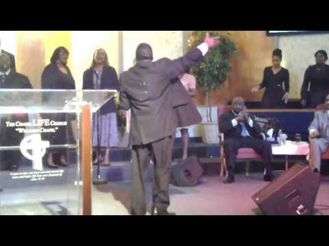 Michael Fletcher at Pastor James C. Jones' Shepherd's Day 2013