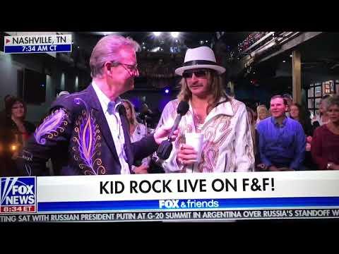 Kid Rock On Fox News - He's A Cowboy Baby
