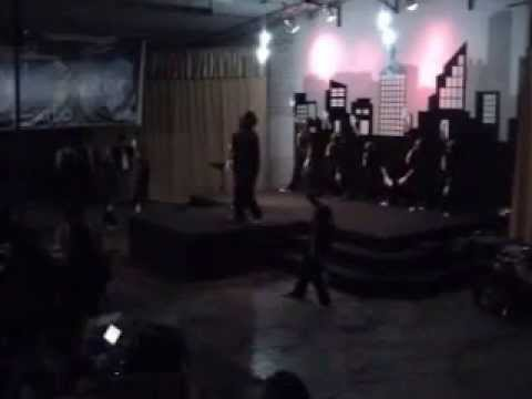 JC IN ACTION COREOGRAFIA  BURN FOR YOU 2009 IGLESIA CIELOS ABIERTOS EN EL RIMAC.wmv