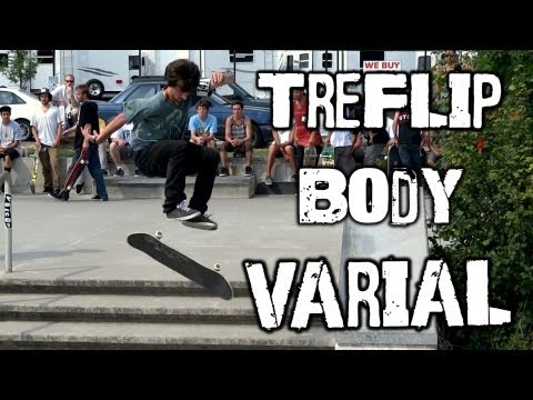 {Tre Flip Body Varial} - Mikey Calcagno