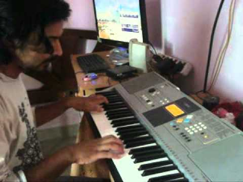 Jungle Jungle Baat Chali Hai on piano