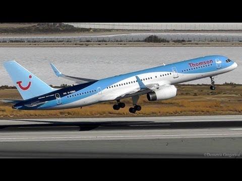 LCLK ATC Tower View|A320, 737, 757, 767, E175 Takeoffs and Landings|Larnaca Plane Spotting