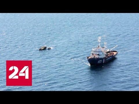 На российских пограничников напали браконьеры из КНДР - Россия 24
