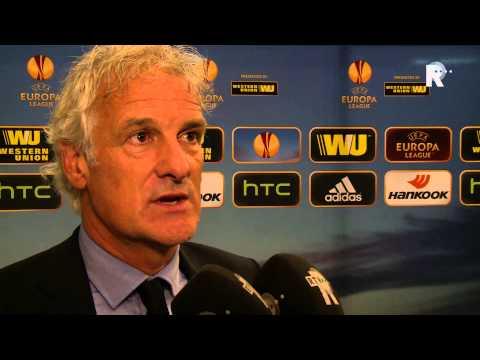 Fred Rutten na afloop van Feyenoord - Standard Luik