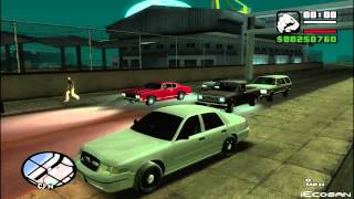 GTA SA - SAPD:FR 2.5 - Patrol Day 7