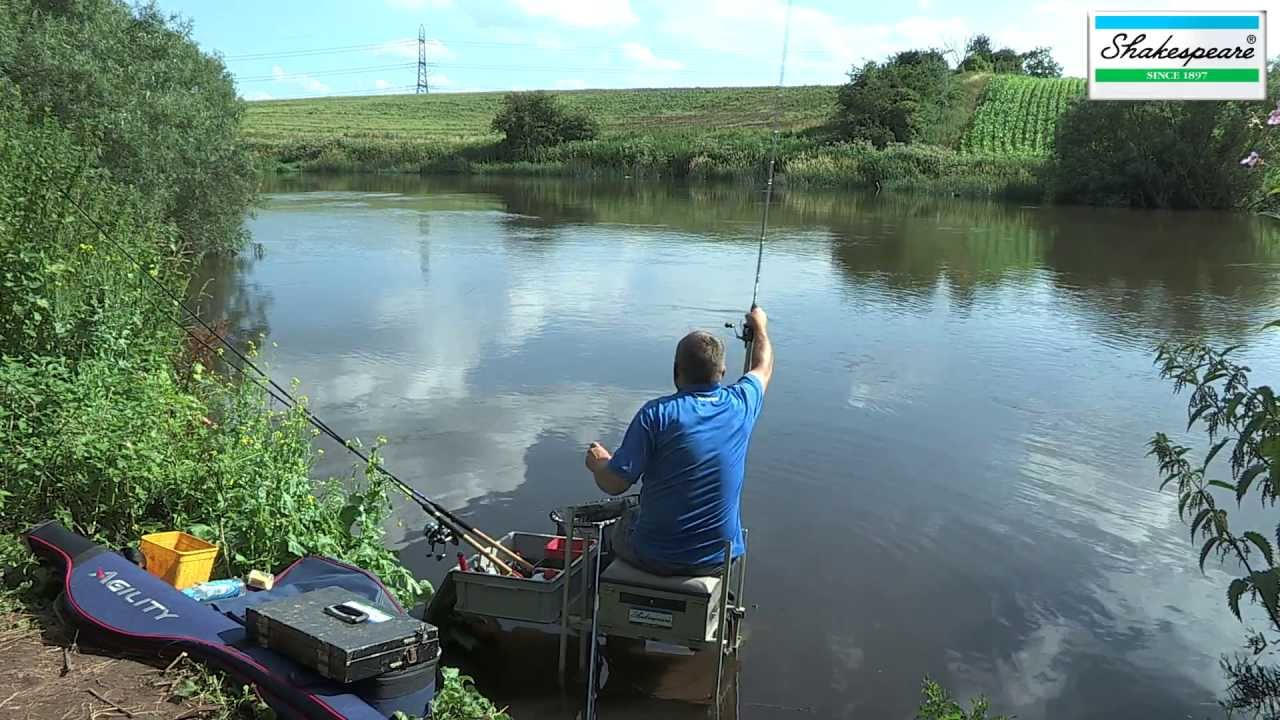 Stick float fishing on the upper trent youtube for James river fishing report